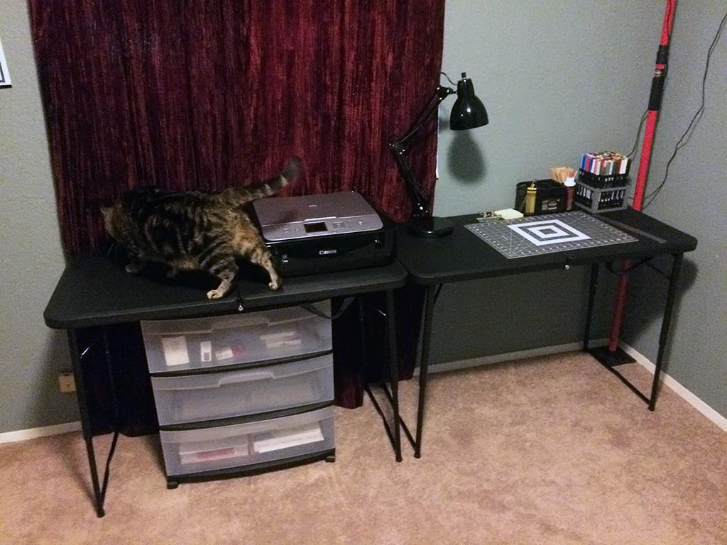Papercraft corner